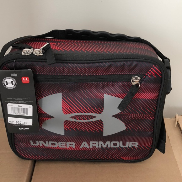 Under Armour Lunch Box Cooler BPA-Free Speed Lines 4aa37781de29c